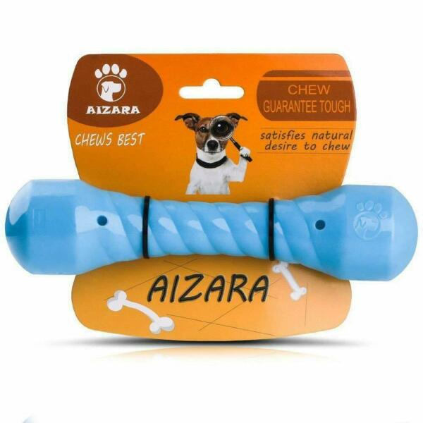 Chew Toys for Aggressive Chewers Indestructible Dog Toys Tough Rubber Bone Toys $6.99
