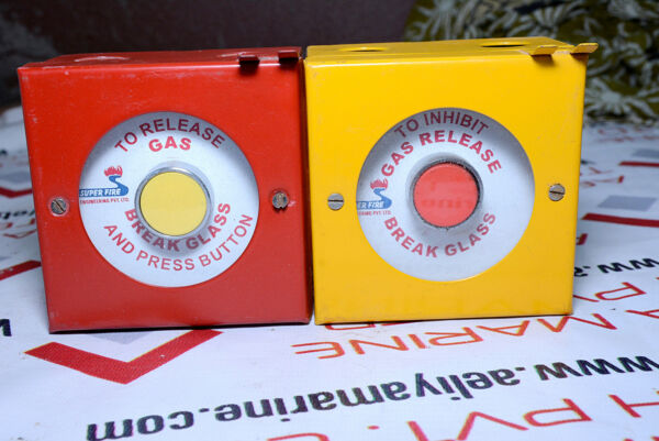 Super fire gas release press button Emergency Button