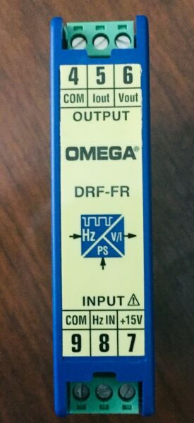 Omega  DRF-FR-24VDC-20HZ-010 FREQUENCY SIGNAL CONDITIONER