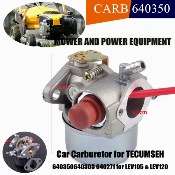 Carburetor for Tecumseh 5hp 5.5 6hp 6.5 Go Kart Engine Cart Horizontal Lawn Carb
