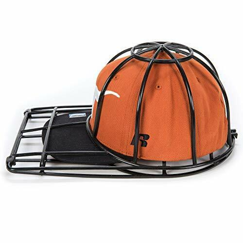 Ballcap Buddy Cap Washer Hat Washer Seen on SHARK TANK Cap Cleaning Cage BLACK
