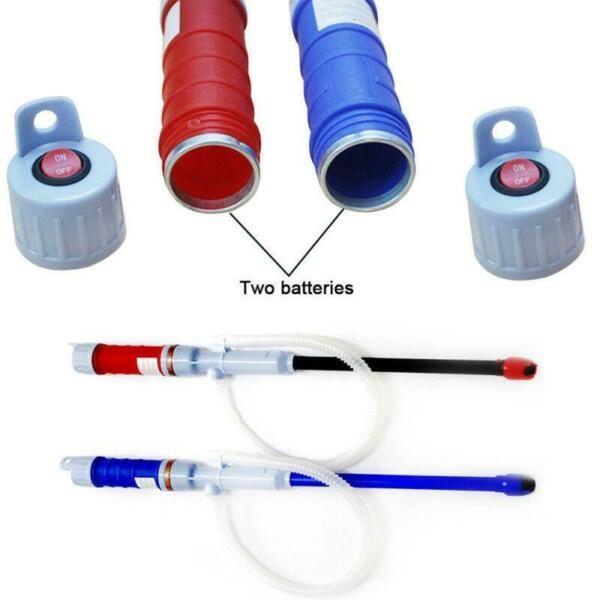 Electric Liquid Syphon Pump Handheld Transfer Gas Oil Water Battery Operated New