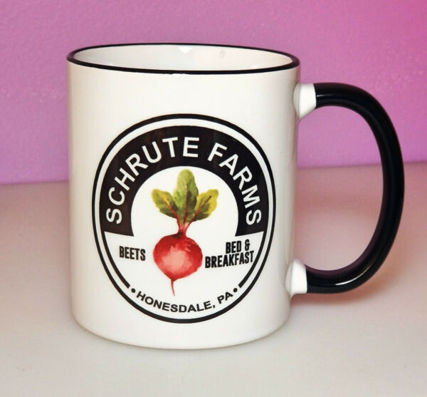 Schrute Farms Coffee Mug Funny Office Coffee Cup Office Gift Ideas Coworker Gift