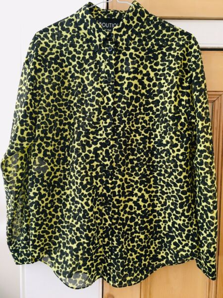 Boutique Moschino Shirt Long sleeve New Size 40 UK S Now: £50 was £55 GBP 50.00