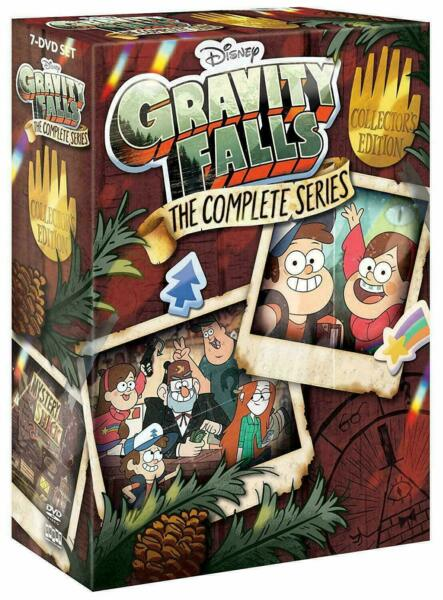 Gravity Falls: The Complete Series DVD Collector's Ed Dubbedfree shippingnew