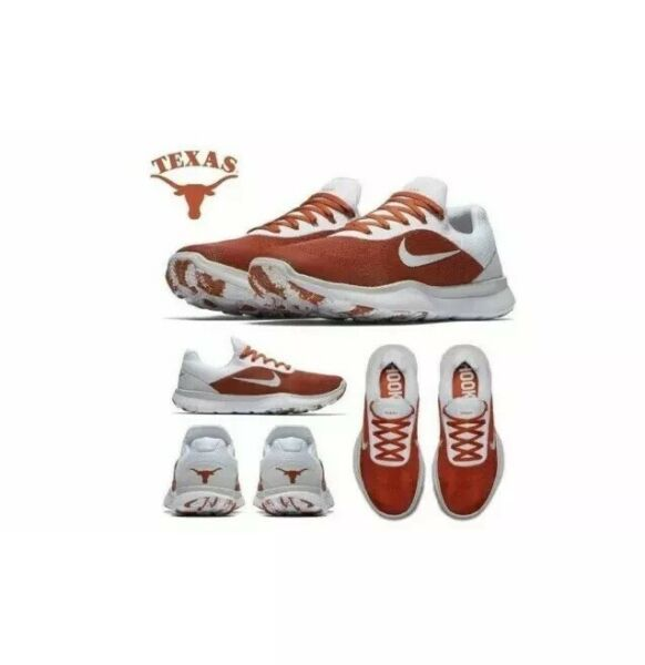 Nike Free Trainer V7 Texas Longhorns Running Shoes Sz.14 NEW AA0881-800!