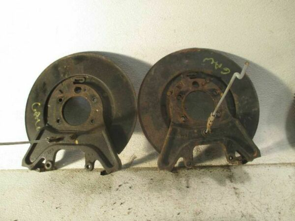 Pair of Backing Plate Caliper Brackets for 2005 Mercury Grand Marquis