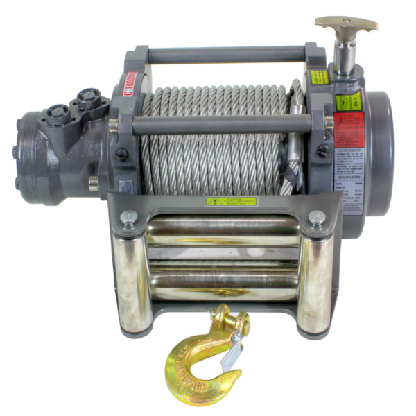 Detail K2 Warrior 10000NH 10000 LB Hydraulic Winch
