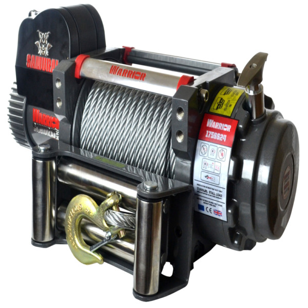 Detail K2 Samurai S17500 17500 LB 12-Volt Electric Winch
