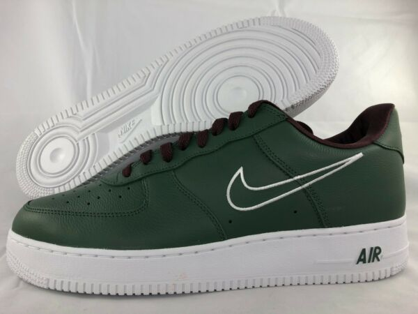 Nike Air Force 1 Low Retro Hong Kong Green White Brown 845053-300 Men's 9-14
