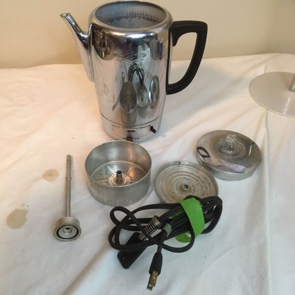 Dormeyer Automatic Coffee Percolator 6901 USA Made Tested Works Free Shipping