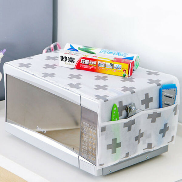 Waterproof Microwave Oven Covers Storage Bag Kitchen Gadgets Home Tool Anti-Dust