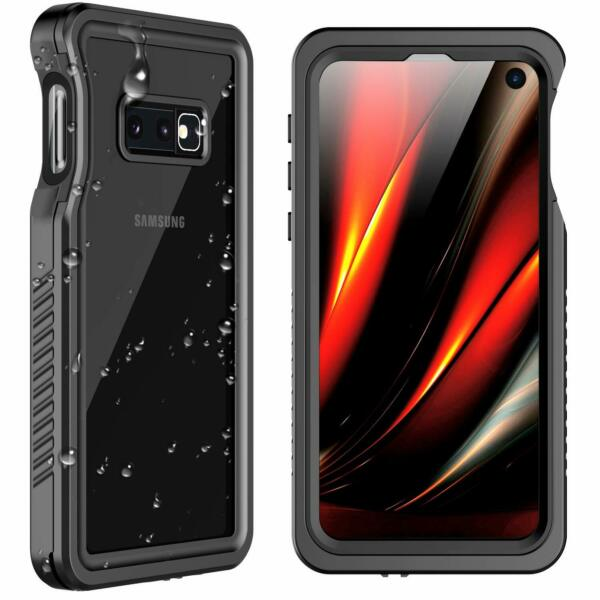 Samsung Galaxy S10E Case Waterproof Military Shockproof Screen Protector Cover
