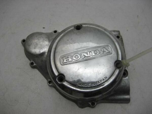 1974 76 CB360 360 HONDA Stator Cover Inner amp; Outer Polished USED IA 482 $34.99