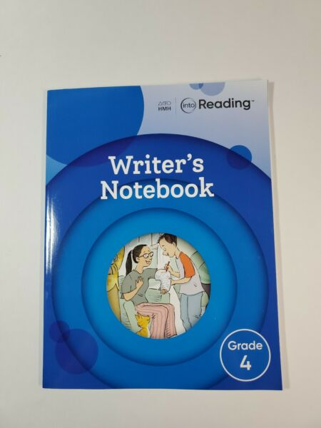 HMH Grade 4 Into Reading Writers Notebook Paperback
