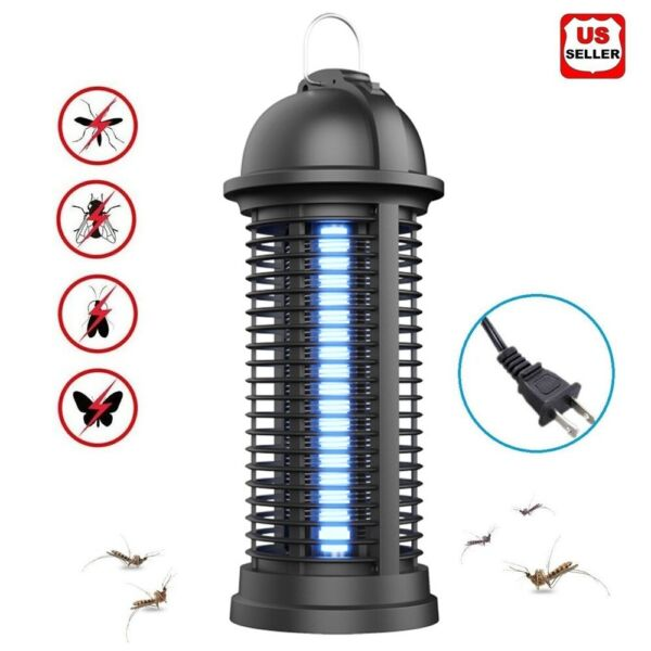 LED Electric UV Mosquito Killer Lamp Fly Bug Insect Repellent Zapper Trap 2020 $13.98