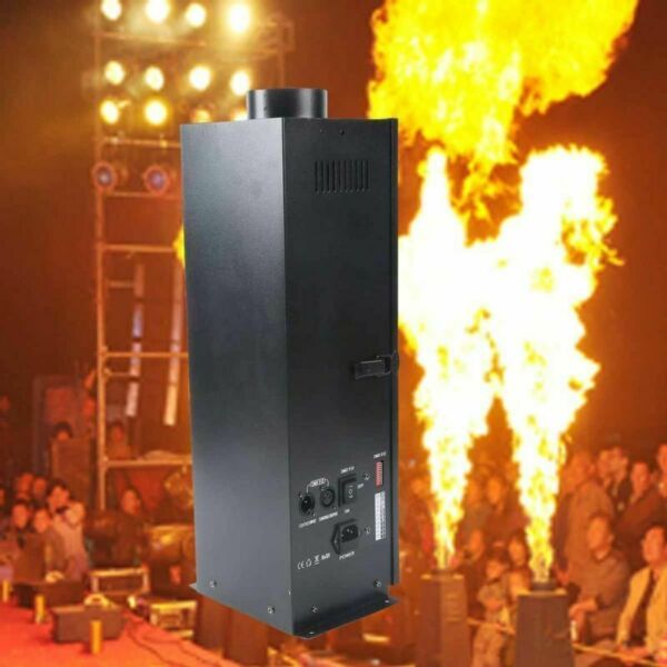 1 X Flame Thrower Stage Show DJ Party 200W Fire Sprayer Effect Projector Machine