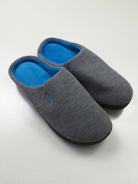 Wishcotton Womens Classic Two-tone Slippers Memory Foam House Shoes Size US 9-10 $14.99