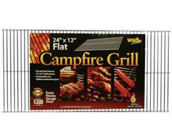 Campfire Grill Grid or BBQ Replacement Grate 12quot;x24quot;