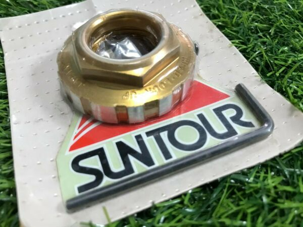 NOS SUNTOUR Lock nut 21.1 JAPAN BICYCLE HANDLEBAR BMX HARO GT KUWAHARA KZ