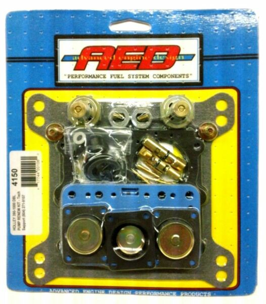 AED 4150 Series Carburetor Rebuild Kit Double Pumper Holley 950 850 750 650 $49.99