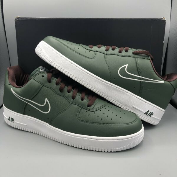 Nike Air Force One Low Retro Size 13 Hong Kong Forest Green 745053 300 Broccoli