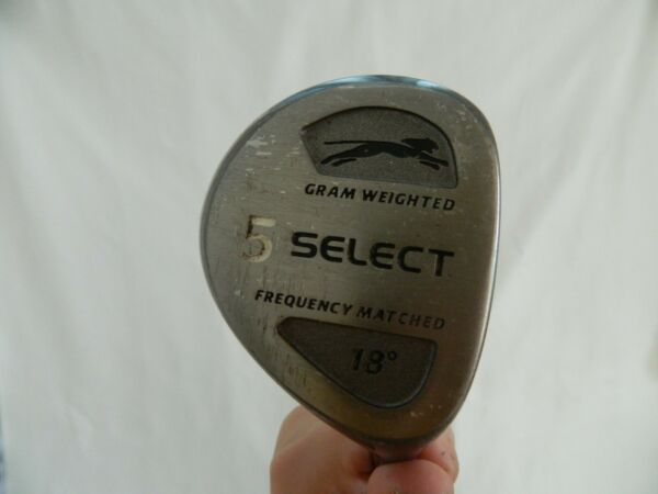 Slazenger Select 5 Wood Driver 18* RH Golf Club Gram Weighted Frequency Matched