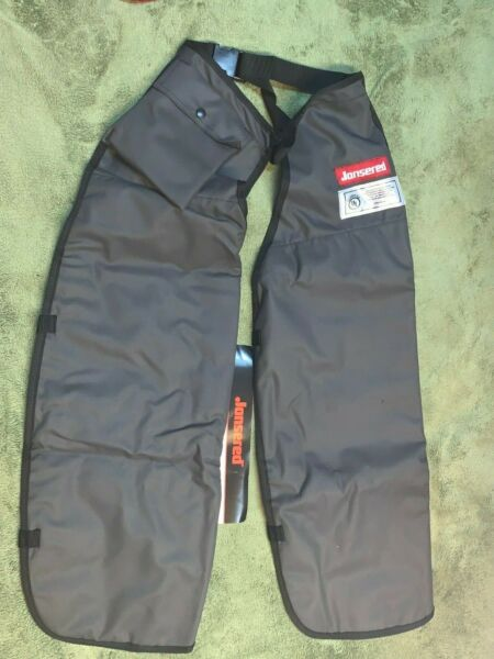 Husqvarna Jonsered GENUINE CHAINSAW CHAPS SAFETY FIRST