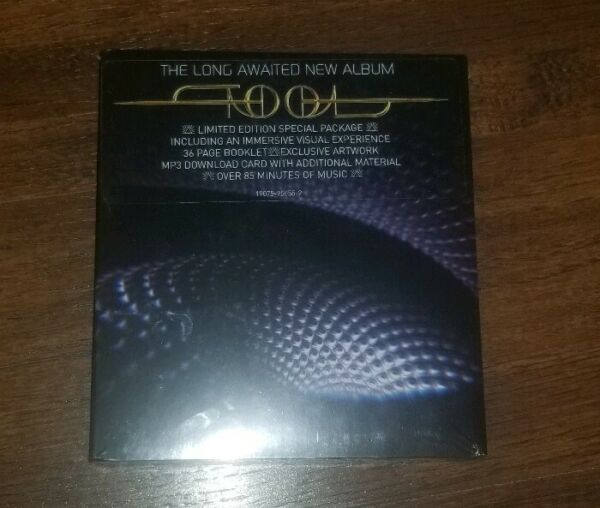 Tool Fear Inoculum CD (Deluxe Edition) Limited Tri Fold W HD Screen
