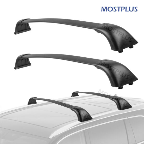 Roof Rack Cross Bar Crossbars For 2014 2019 Toyota Highlander XLE Limited Models $62.99