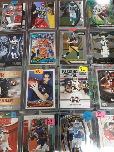 NEW NFL Football Numbered Insert Rookie Autograph Jersey Card MAHOMES? BRADY?