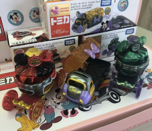 Tomica Disney Motors Jewelry Way Autumn edition 2019 set Mickey Mouse 7-11 FS