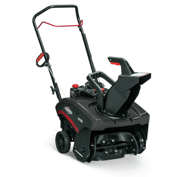 Briggs and Stratton 1697099 5.50 ft-lbs Single-Stage 618 18 in. Snow Blower New