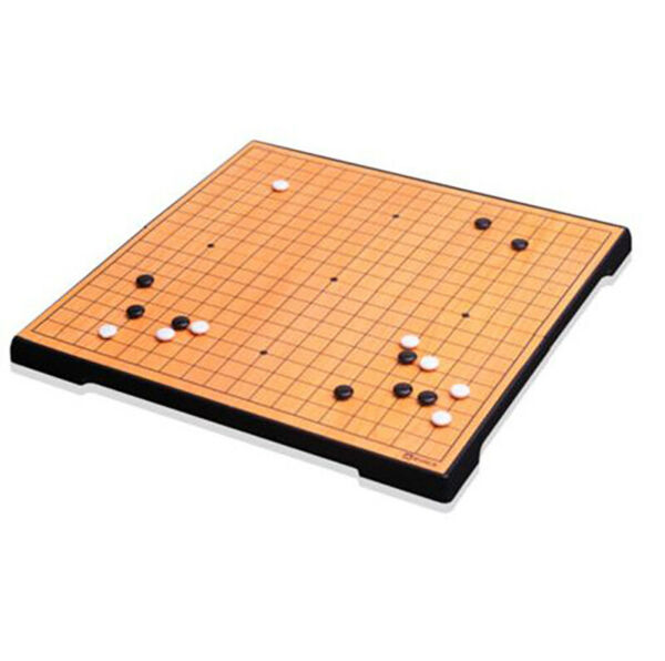 MYUNGIN 086 Magnetic Go Board Game WeiQi Baduk Piece stones Travel Foldable