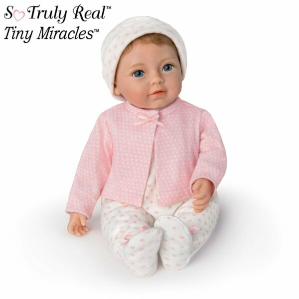 Ashton Drake Tiny Miracles Little Ellie Lifelike 10quot; Toy Doll NEW So Truly Real