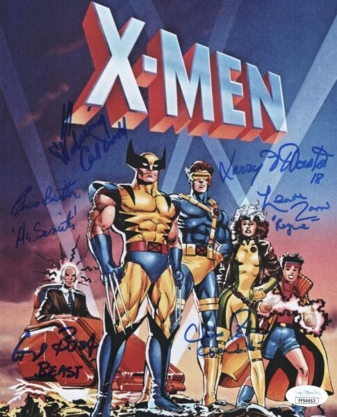 CAL DODD Cast X6 Signed X MEN ANIMATED SERIES 8x10 Photo Autograph JSA COA