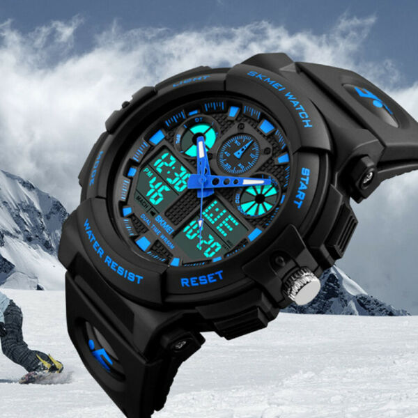 Men#x27;s Date Quartz Military Shock Digital Tactical Sport Fashion Wrist Watch US
