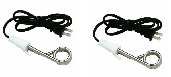 2 pack Norpro Immersion Heater Coffee Tea Soup Electric Water Portable Reheater $15.99