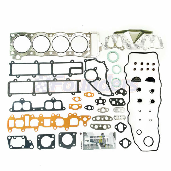 Full Head Gasket Set Kit For  Toyota 4Runner Pickup 2.4 Sohc 22R 22Re 22Re