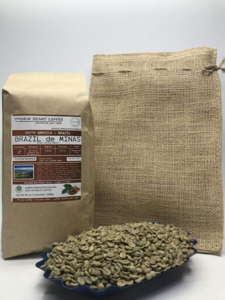 1lb30lb - Brazilian – Specialty Grade – Premium Unroasted Green Coffee Beans