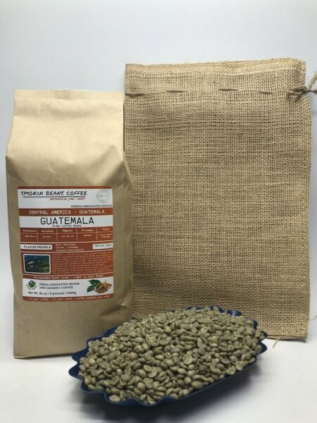 1lb30lb - Guatemala – Specialty Grade – Premium Unroasted Green Coffee Beans