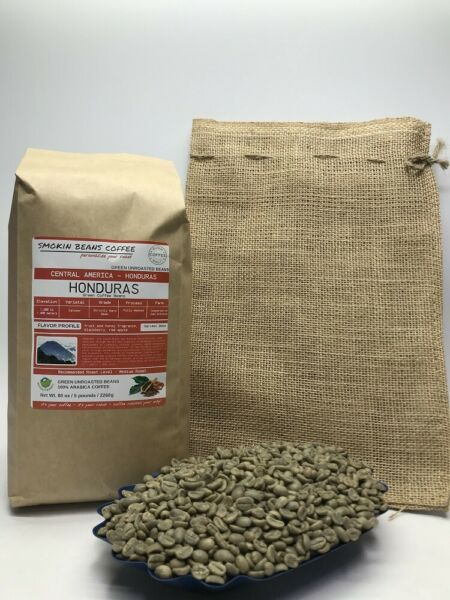 1lb30lb - Honduras – Specialty Grade – Premium Unroasted Green Coffee Beans