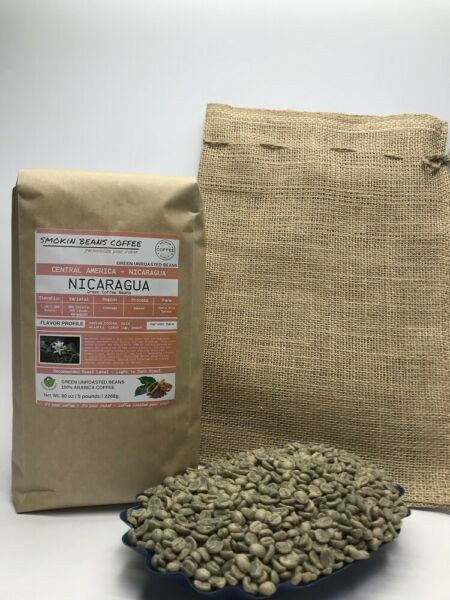 1lb30lb - Nicaragua – Specialty Grade – Premium Unroasted Green Coffee Beans