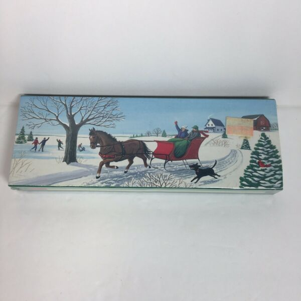 Vintage Fireplace Matchstick Christmas Matches Mantle 50 - 8