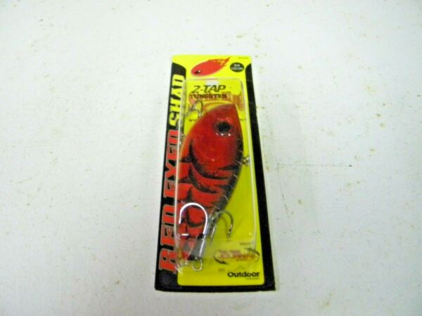Strike King Red Eye Shad 34oz 2-tap Tungsten Delta Red REYESDTT34-450