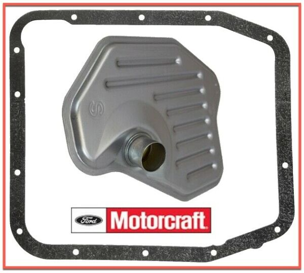 Auto Trans. Filter Kit OEM MOTORCRAFT for FORD Lincoln Mercury FT105 W. Gasket
