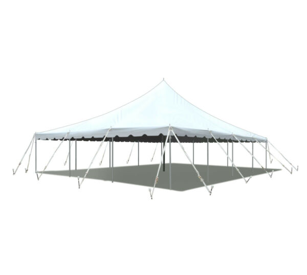 30x40' Party Event Canopy Premium Pole Tent Heavy Duty Waterproof Sectional Top