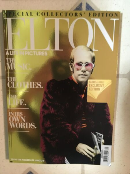UNCUT 98 Page ELTON JOHN Special EDITION Complete Story A LIFE IN PICTURES Words