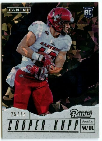 2017 Panini Fathers Day Cracked Ice Non Auto Cooper Kupp RC 2525 11 RAMS