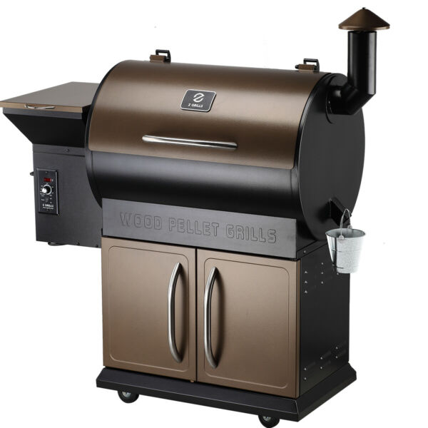 Z GRILLS Pellet Grill BBQ Smoker Outdoor Garden Barbecue with Cover